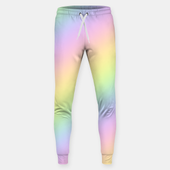 Miniatur Pastel Goth Rainbow  Cotton sweatpants, Live Heroes