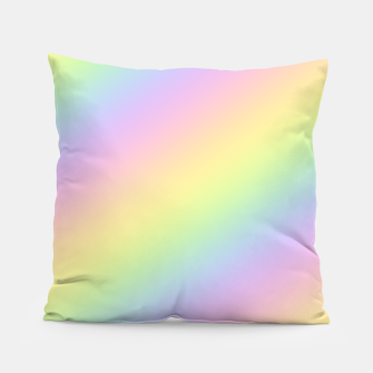 Miniatur Pastel Goth Rainbow  Pillow, Live Heroes