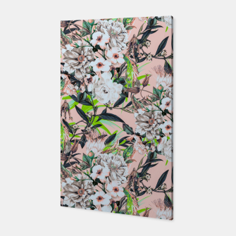 Thumbnail image of Flowering bouquet pink Canvas, Live Heroes