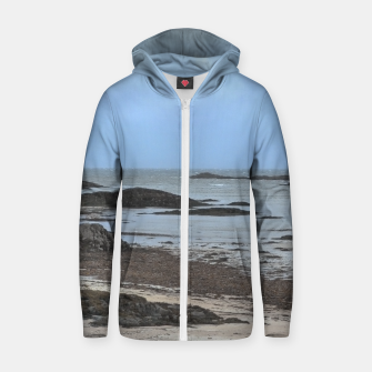 Miniaturka Sea view Cotton zip up hoodie, Live Heroes