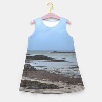 Miniatur Sea view Girl's summer dress, Live Heroes