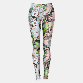 Thumbnail image of Flowering bouquet pink Leggings, Live Heroes