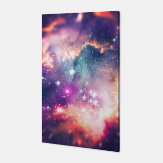 Miniature de image de The universe under the microscope (space tilt shift art) Canvas, Live Heroes