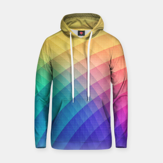Miniatur Spectrum Bomb! Fruity Fresh (HDR Rainbow Colorful Experimental Pattern) Cotton hoodie, Live Heroes