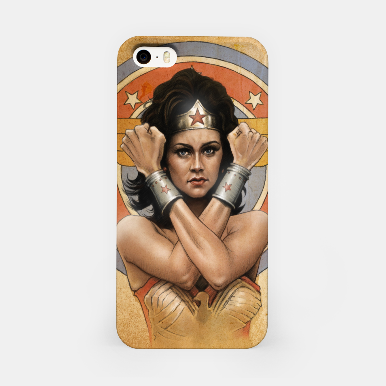 Image of Lynda Carter iPhone Case - Live Heroes