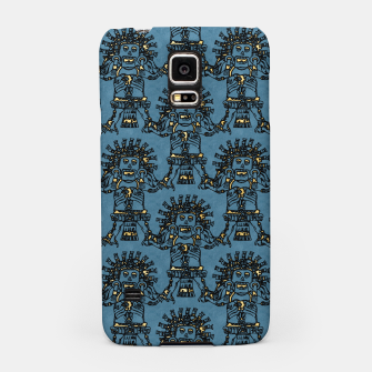 Blue Ancient Mexican Myth Samsung Case thumbnail image