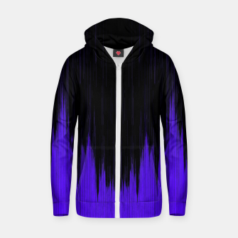 Thumbnail image of d_Wave Cotton zip up hoodie, Live Heroes