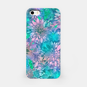 Imagen en miniatura de Painted Background Floral Pattern iPhone Case, Live Heroes