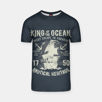 King of the Ocean T-shirt obraz miniatury
