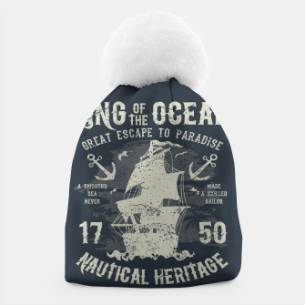 King of the Ocean Beanie obraz miniatury