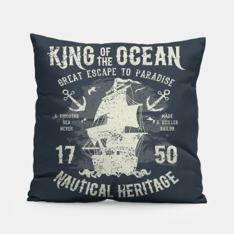 King of the Ocean Pillow obraz miniatury