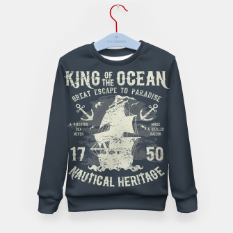 King of the Ocean Kid's sweater obraz miniatury