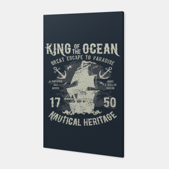 King of the Ocean Canvas obraz miniatury