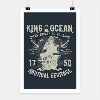 King of the Ocean Poster obraz miniatury