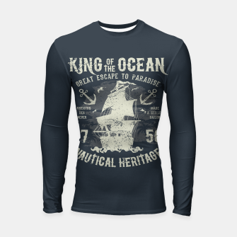 King of the Ocean Longsleeve rashguard  obraz miniatury