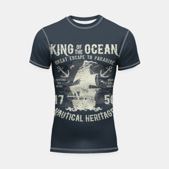 King of the Ocean Shortsleeve rashguard obraz miniatury