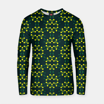 Miniaturka Yellow Points Circles Cotton sweater, Live Heroes