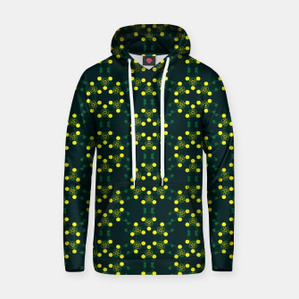 Miniaturka Yellow Points Circles Cotton hoodie, Live Heroes