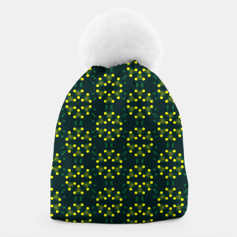 Miniaturka Yellow Points Circles Beanie, Live Heroes
