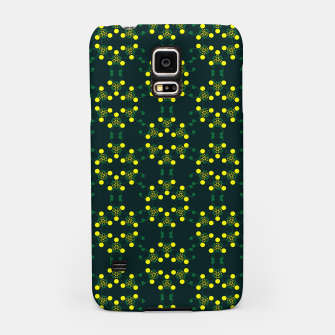 Miniaturka Yellow Points Circles Samsung Case, Live Heroes