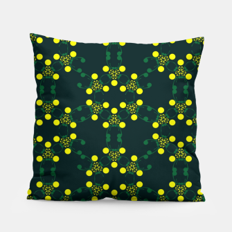 Miniaturka Yellow Points Circles Pillow, Live Heroes