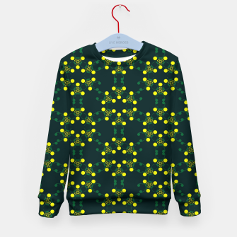 Miniaturka Yellow Points Circles Kid's sweater, Live Heroes