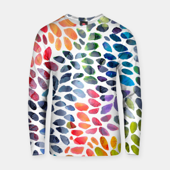 Imagen en miniatura de Colorful Painted Drops Cotton sweater, Live Heroes