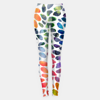 Imagen en miniatura de Colorful Painted Drops Leggings, Live Heroes