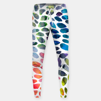 Miniatur Colorful Painted Drops Cotton sweatpants, Live Heroes