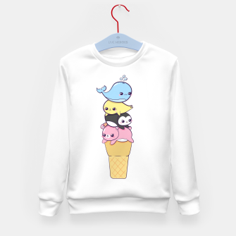 Miniature de image de Global Warming Kid's sweater, Live Heroes