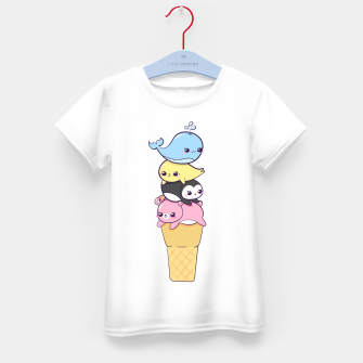 Miniature de image de Global Warming Kid's t-shirt, Live Heroes