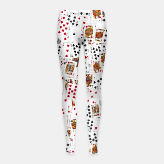 Thumbnail image of Suits You Girl's leggings, Live Heroes