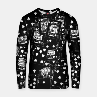 Thumbnail image of Suits You BLACK Cotton sweater, Live Heroes