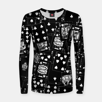Thumbnail image of Suits You BLACK Woman cotton sweater, Live Heroes
