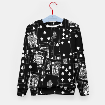 Thumbnail image of Suits You BLACK Kid's sweater, Live Heroes
