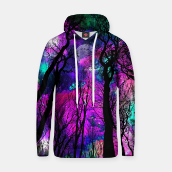 Magic forest Cotton hoodie obraz miniatury