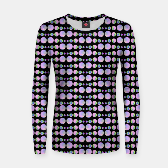 Thumbnail image of Beads Pattern Woman cotton sweater, Live Heroes