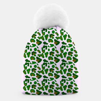 Thumbnail image of Design beanie wild tiger green pink, Live Heroes