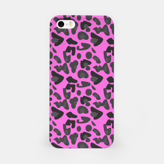 Thumbnail image of iPhone tiger pink case with black, Live Heroes