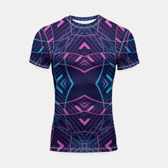 Thumbnail image of VISION / part two / neon Shortsleeve rashguard, Live Heroes
