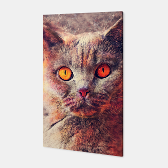 Miniaturka cat Gina #cat #kitty Canvas, Live Heroes