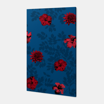 Thumbnail image of Red Flowers Canvas, Live Heroes
