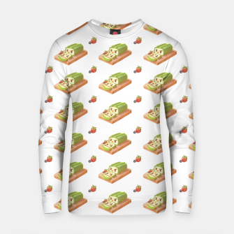 Thumbnail image of Matcha Cake Roll Cotton sweater, Live Heroes