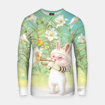 Thumbnail image of Blooming Lily Cotton sweater, Live Heroes