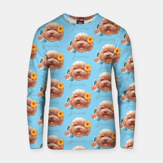 Thumbnail image of Toy Poodle Cotton sweater, Live Heroes
