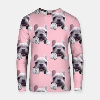French Bulldog Cotton sweater imagen en miniatura