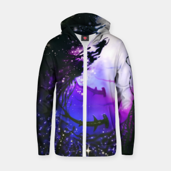 Thumbnail image of Within Your Ocean Cotton zip up hoodie, Live Heroes