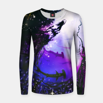 Thumbnail image of Within Your Ocean Woman cotton sweater, Live Heroes