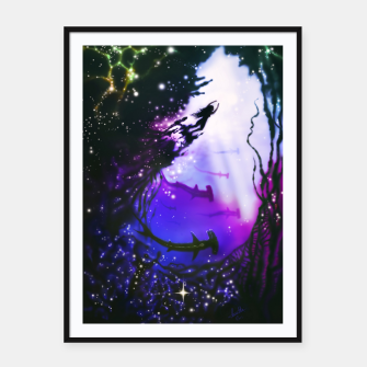 Thumbnail image of Within Your Ocean Framed poster, Live Heroes