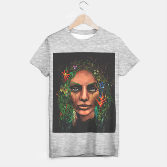 Miniatur One With Nature | The Rainforest T-shirt regular, Live Heroes